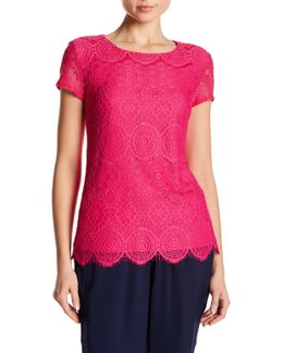All Lace Tee