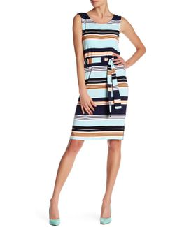 Cool Stripe Column Dress