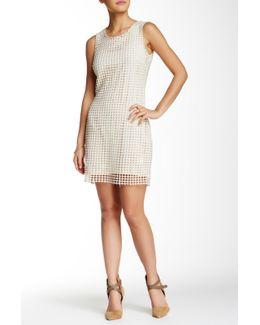 Crochet Overlay Dress