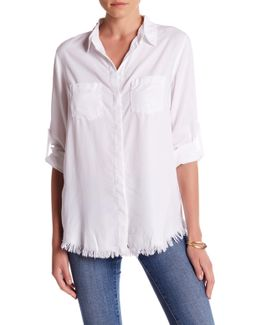 Clarice Long Sleeve Button Down Blouse