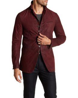 Suede Cutaway Jacket