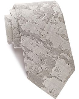 Marble Abstract Tie