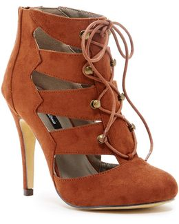 Laurence Lace-up Bootie