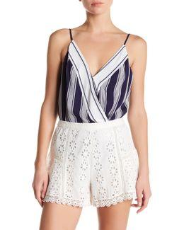 Vision Cami Striped Bodysuit
