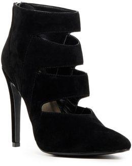 Lilo Velvet Ankle Boot