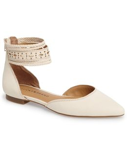 Madoz Ankle Strap Flat