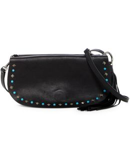 Zoe Leather Convertible Clutch