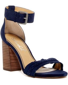 Jakey Block Heel Sandal