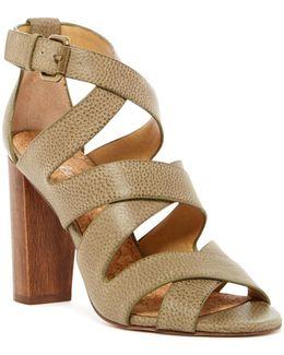 Jimmy Block Heel Sandal
