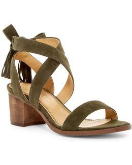 Janine Block Heel Sandal