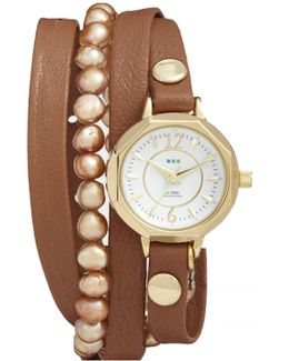 Women's Hawaiian 5-7mm Freshwater Pearl Watch