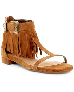 Lowdown Fringe Sandal