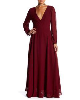 Carolina Geo Maxi Dress