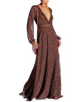 Vivian Floral Maxi Dress