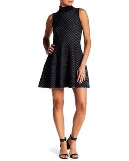 Dorine Diamond Flare Dress