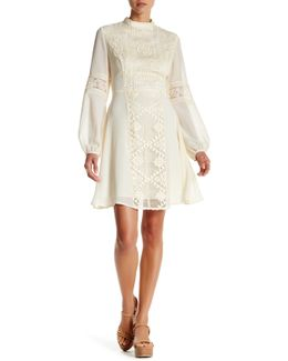 Joan Mock Neck Dress
