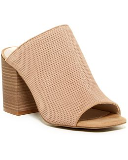Top Notch Perforated Mule