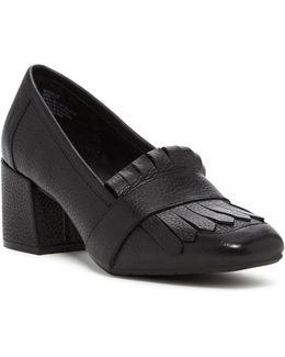 Michelle Block Heel Loafer
