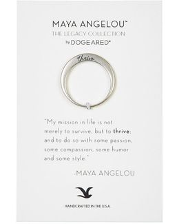 Thrive Maya Angelou Legacy Collection Ring