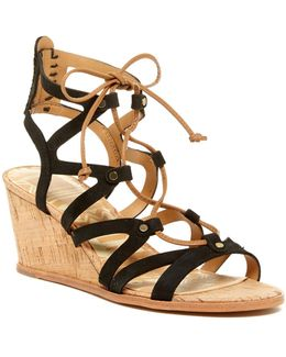 Lynnie Wedge Sandal
