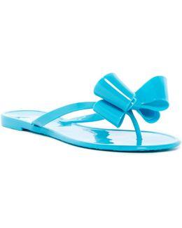 Lounge Bow Sandal