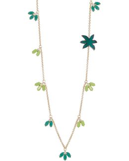 Marquis & Palm Station Necklace