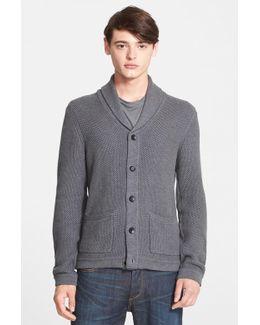 Standard Issue 'avery' Shawl Collar Cardigan