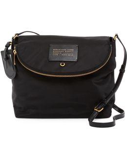 Preppy Legend Nylon Satchel Shoulder Bag