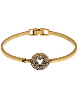 Pave Star Delicate Cuff Bracelet