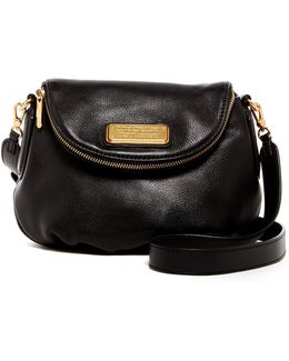 Mini Natasha Leather Cross-Body Bag