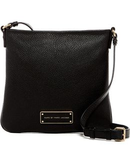Sia Leather Crossbody