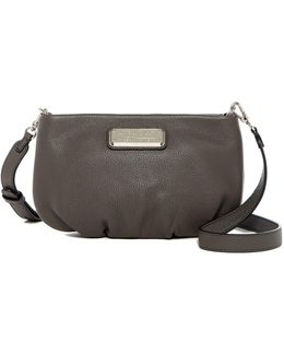Percy Leather Crossbody Bag