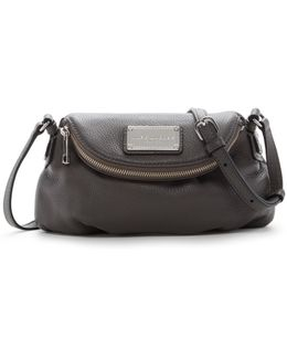 Classic Mini Leather Messenger Bag
