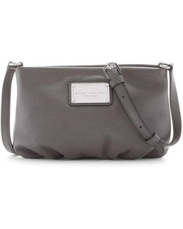 Classic Leather Crossbody