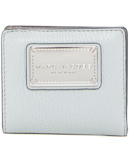 Classic Open Face Billfold Leather Wallet