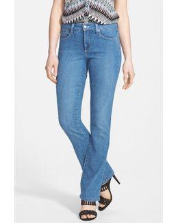 'billie' Stretch Mini Bootcut Jeans (regular & Petite)