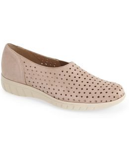'skipper' Perforated Leather Sneaker (women)