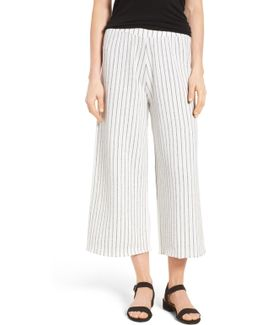 Wisteria Wide Leg Crop Pants (regular & Petite)