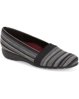 Bonita Canvas Slip-On Flats