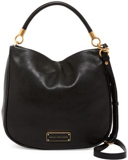 Too Hot To Handle Leather Hobo