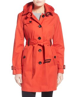 Single Breasted Raincoat