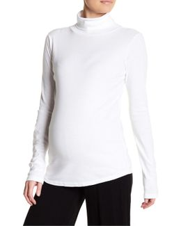 Long Sleeve Turtleneck Shirt (maternity)