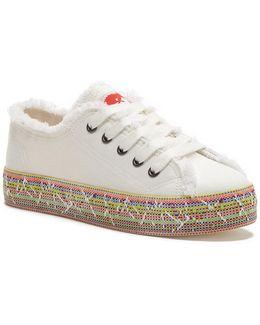 Madox Frayed Trim Sneaker