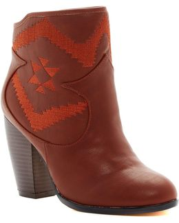Master Embroidered Bootie