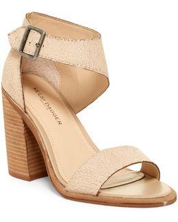 Mayfair Asymmetrical Strap Heel
