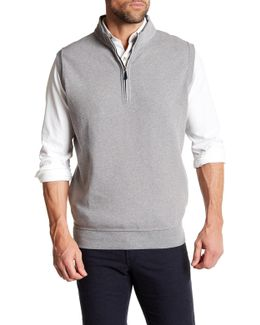 Melange Fleece Vest