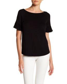 Ruffle Sleeve Shirt