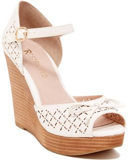Melrose Peep Toe Wedge