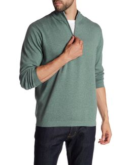 Salisbury 1/4 Zip Mock Neck Sweater