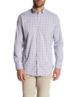 Rizzo Mini Checkered Long Sleeve Shirt